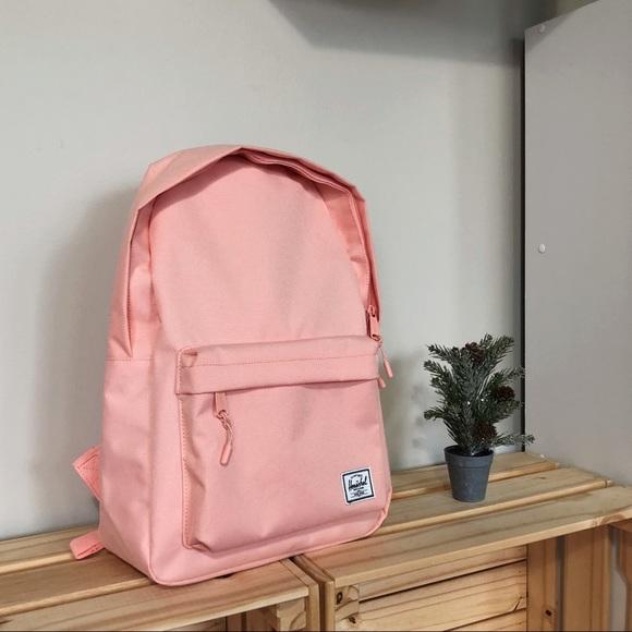 d254f537648 Herschel Classic 18L Peach Color Backpack NWT